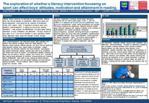 The exploration of whether a literacy intervention focussing on sport can affect boys' attitudes, motivation and attainment in reading.